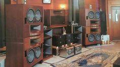 High end audio audiophile TAD Speakers Rey Audio, Onkyo Scepter