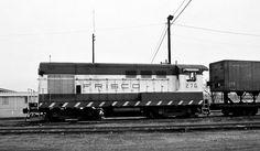 Frisco Switch Engine No. 276, Oklahoma City, Oklahoma, 1973 | Flickr - Photo Sharing!