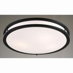 @Overstock - Add brightness and contemporary design to a room with this gorgeous flush-mount ceiling light. Featuring a white acrylic shade that's trimmed with a thick black border, it casts warm white light into the room and adds modern energy to your space.http://www.overstock.com/Home-Garden/Black-and-Milky-White-Modern-Flushmount-Ceiling-Lamp/6140617/product.html?CID=214117 $96.99