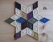hand quilted stars