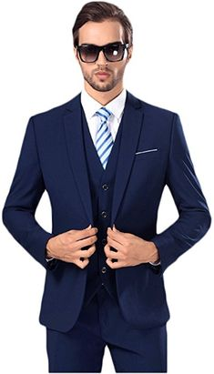 Cheap slim fit suit, Buy Quality slim fit business suit directly from China wedding suit Suppliers: 2017 new men's suits business casual contracted joker wedding suit blazers mens slim fit suit high quality (Jacket+Pants+Vest) Preppy Mens Fashion, Mens Fashion Suits, Men's Fashion, 3 Piece Suit Slim Fit, New Mens Suits, Men's Suits, Cheap Suits, Casual Suit, Casual Wear