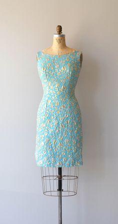 French Room dress vintage 1960s dress metallic by DearGolden