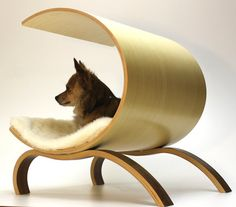 Dog Pod 2.0 by vurvdesign on Etsy || Gorgeous! How bad would you judge me for getting this for my pup?