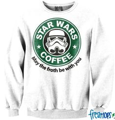 Wars Coffee Crewneck – Fresh-tops.com