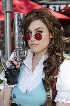 Steampunk Lara Croft by Meagan.Marie, via Flickr