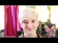 ▶ How to Style Short Hair Three Ways - Sally Hershberger - YouTube.