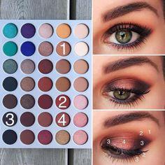 Jaclyn Hill Palette look #MakeupTutorialEyeshadow