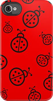 Ladybirds iPhone/Ipod cases by sandnotoil