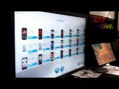 E4 AV Tour: Planar Demos Interactive 4x4 Video Wall with NextWindow Smart Technology
