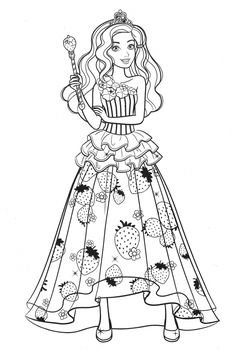 Barbie Coloring Pages, Princess Coloring Pages, Cute Coloring Pages, Coloring For Kids, Coloring Sheets, Coloring Books, Good Marriage Quotes, Digital Scrapbook Paper, Fashion Design Sketches