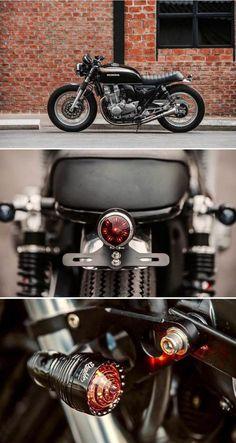 Honda de K-Speed - Auto Design Ideen - Motocicletas Cafe Racer Honda, Cafe Racer Tank, Cb 750 Cafe Racer, Custom Cafe Racer, Cafe Racer Build, Cafe Racer Bikes, Motorcycle Trailer, Motorcycle Camping, Cafe Racer Motorcycle
