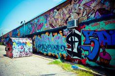 Graffiti Art, Modern Wall Decor, Spray Paint, Hip Hop Culture, Street Art, 8x12 Print, Fine Art Photography, Blue Green by Squintphotography on Etsy