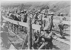 Barbed wire was not used to gather cattle during World War One, but to slow down the attacking of the opposite army.