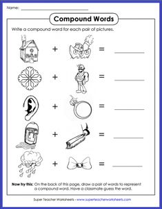46 Best Language Arts - Super Teacher Worksheets images in 2019 ...