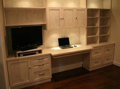 dresser desk | Custom Built - in desk