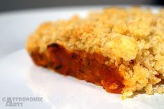 Crumble tomate & oignon / Tomato & onion crumble