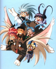 Tenchi Muyo- oh my gosh this was seriously the best show ever! I watched every episode without fail. Ryoko was my fave.