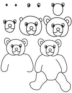 How To Draw A Black Bear For Kids Draw Bear Wildlife Center