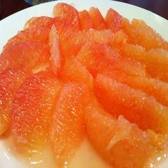 Dulce de toronja - candied sweet grapefruit