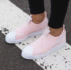 Adidas Superstar Slip On Light Pink Shoes Cheap Sale cca9a1418
