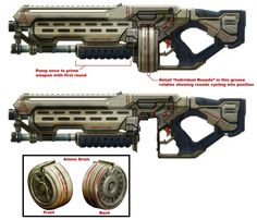 Assault Shotgun - 40k - Dark Heresy - Warhammer - Roleplay