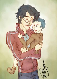 Teddy's Loving Godfather by ~AniPokie on deviantART
