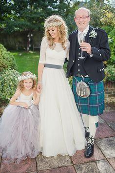 Bohemian Rustic Country Chic Wedding http://www.lifelinephotography.co.uk/