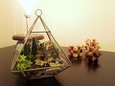 My daughter and I spent the last few weekends making a Gravity Falls terrarium. (#QuickCrafter)