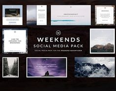 "Check out new work on my @Behance portfolio: ""WEEKENDS 