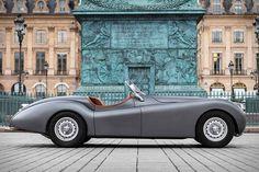 Refrigerator Magnet 1949 Jaguar XK Supersports Roadster 40 Mil Cabriolet