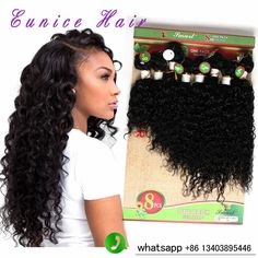... Hair Crochet Hair Extensions 8Pieces/lot human curly crochet hair