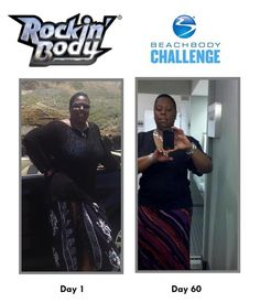 Check out my 60 day results with Shaun T's Rockin Body® in our fitst challenge group that started in Feb. 2012! Rockin Body® is Shaun T's in-home high-octane dance party that will have you sweating off the pounds to all your favorite dance-floor hits! This is one of my favorite programs of all times!!