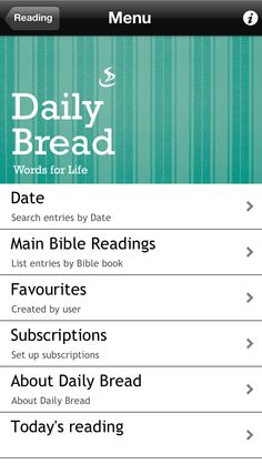 Daily Bread – Daily Bible reading guide from Scripture Union