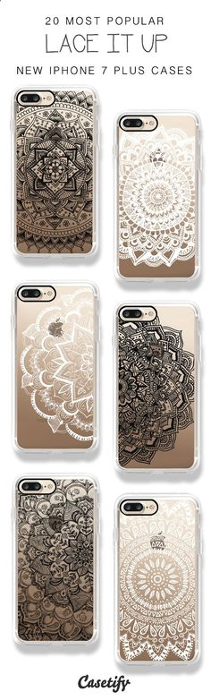 Girls, lace it up! 20 Most Popular iPhone 7 / iPhone 7 Plus Phone Cases here > www.casetify.com/...