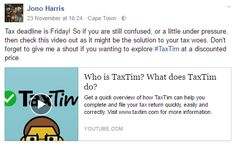 Screenshot from one of our #TaxTim influencers. #InfluencerMarketing #WordOfMouthAdvertising #theSALT