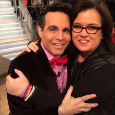 Rosie and Mario Cantone