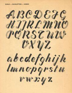 Best Typography Lettering 750 Type Graphic images on Designspiration Hand Lettering Alphabet, Calligraphy Letters, Typography Letters, Typography Poster, Types Of Lettering, Lettering Design, Ribbon Font, Bullet Journal Font, Lettering Tutorial