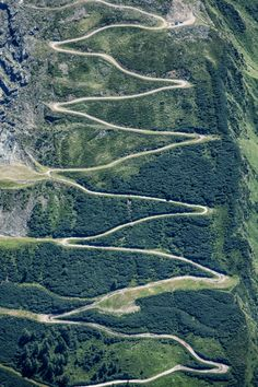 Mountain Road - Oberfelben, Salzburg, Austria..Oh hell yes!!