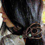 "51 Likes, 5 Comments - WireGalaxy (@wiregalaxy) on Instagram: ""My wire wrap #workshop #wire_jewelery #wireart  #wirewrap #wiregalaxy #copper #art #crafts…"""