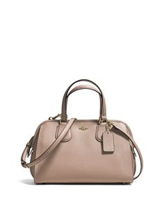 COACH Nolita Satchel in Crossgrain Leather | Bloomingdales's