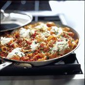 Skillet Meaty Lasagna Recipe at Cooking.com