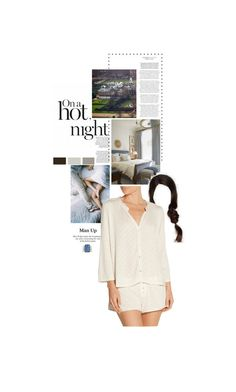 """""""Untitled #2503"""" by duchessq ❤ liked on Polyvore featuring Eberjey"""