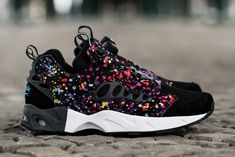 "The release of the Stash x Reebok Insta Pump Fury Road ""Splatter"" is just around the corner! Are you copping?"