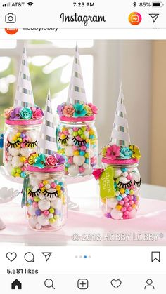 Unicorn birthday party decorations for a girl birthday - Unicorn Party Favors Unicorn Themed Birthday Party, 10th Birthday Parties, 5th Birthday, 7th Birthday Party For Girls Themes, Rainbow Unicorn Party, 1st Birthdays, Birthday Gifts, Baby Party Favors, Birthday Party Decorations