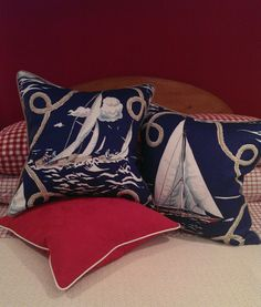 - Annapolis Collection - #BeachPillows #CoastalPillows #NauticalPillows
