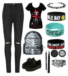 """""""Untitled #71"""" by edithisonfire on Polyvore featuring Ally Fashion, Kreepsville 666, Givenchy and Manic Panic"""