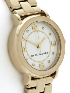 MARC JACOBS WATCHES Riley Small Stainless Steel Bracelet Watch.