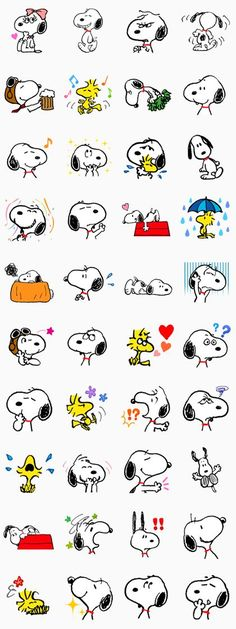 Snoopy - LINE Offizielle Sticker