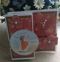 Good Morning Ladies, Lynda sent me the photos of this card at the weekend, I was so inspired by the style of the card I just cou. Good Morning Ladies, Double S, Friends, Cards, Handmade, Inspiration, Home Decor, Amigos, Biblical Inspiration
