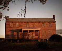 The Barrow House - c.1830, and earlier. Halifax County, NC.